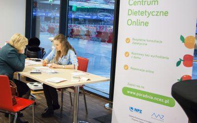 Porady dietetyków zCentrum Dietetycznego Online wdrugim dniu Kongresu!