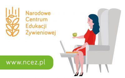 Narodowe Centrum Edukacji Żywieniowej – wiarygodne źródło informacji ożywieniu izdrowym stylu życia